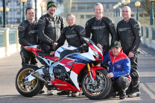 (Dave Kneen/Pacemaker Press) 14/4/2016: Isle of Man TT Travelling marshals will be provided with Honda bikes for the 2016 Isle of Man TT.