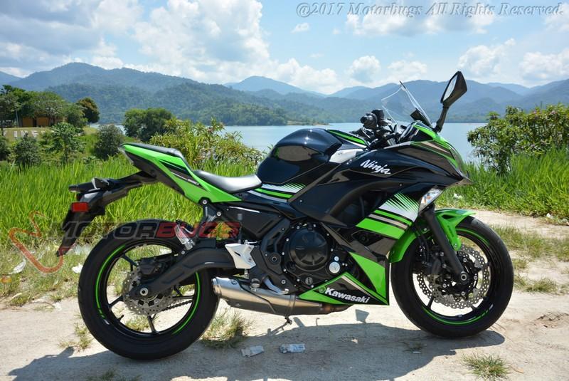 KAWASAKI NINJA 650 ABS 2017 TEST REVIEW | Bike Reviews