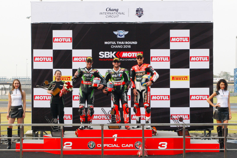 SBK 2016 Motul Thai Round, Chang International Circuit, Thailand