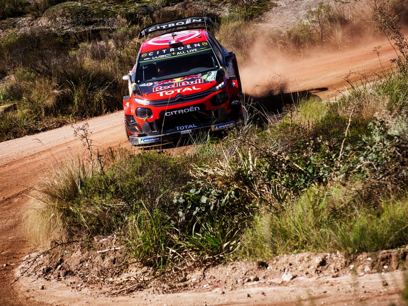 Thierry Neuville (Hyundai i20) clear after Tänak exits on Saturday