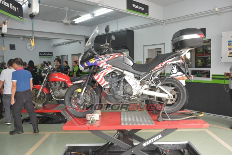 26ab1bbf2fb SC Premium Bikes officially opens Kawasaki GT World Ninja & Kawasaki ...
