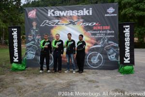 Kawasaki KLX150L 2014-5