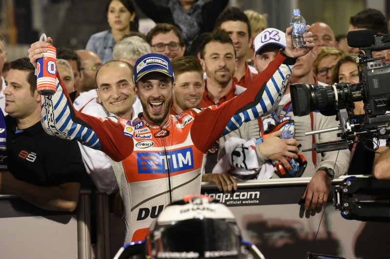 MotoGP 2016 : Dovizioso puts in a great race to take the runner-up slot in GP of Qatar